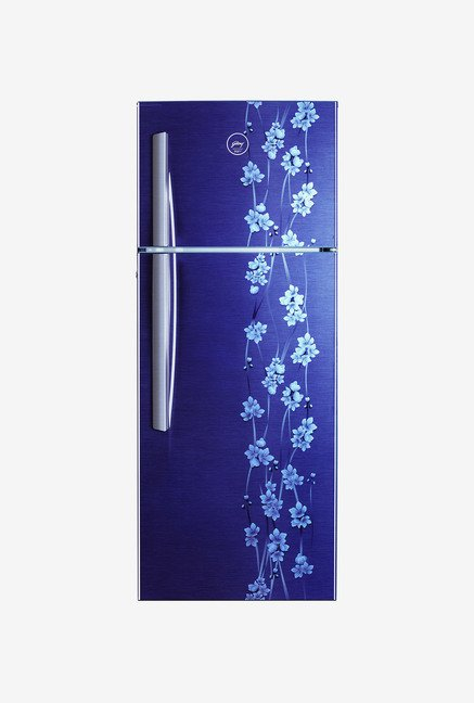Godrej RT EON 290 P 3.4 290L Double Door Refrigerator (Blue)