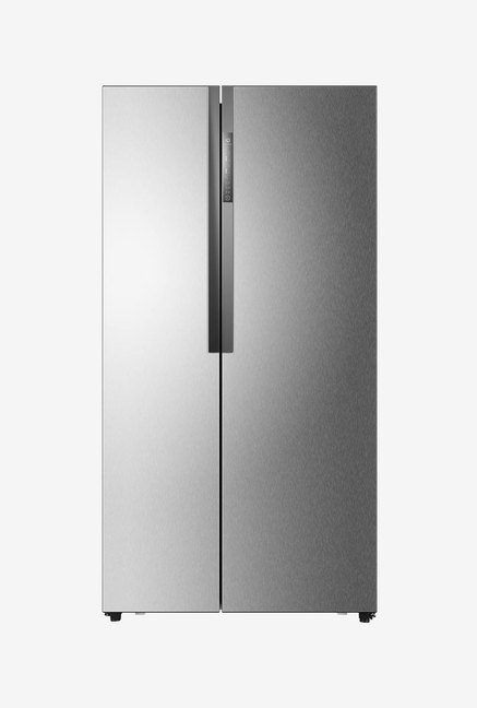 Haier HRF 618 SS 565L Side By Side Refrigerator (Grey)