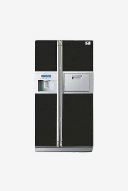 Videocon VPS65ZLM-FSC 637L Side by Side Refrigerator (Black)