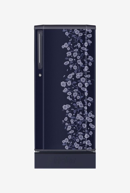 Haier HRD-2105PBD-H 190 L Refrigerator (Blue Daisy)