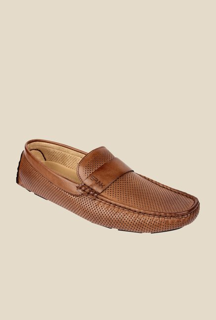 Spunk Dive Tan Formal Loafers