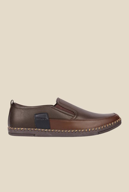 Spunk Grove Coffee Casual Slip-Ons