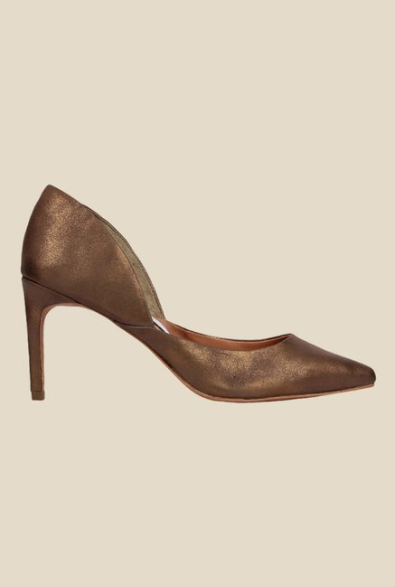 Spunk Stacey Brown D'orsay Shoes
