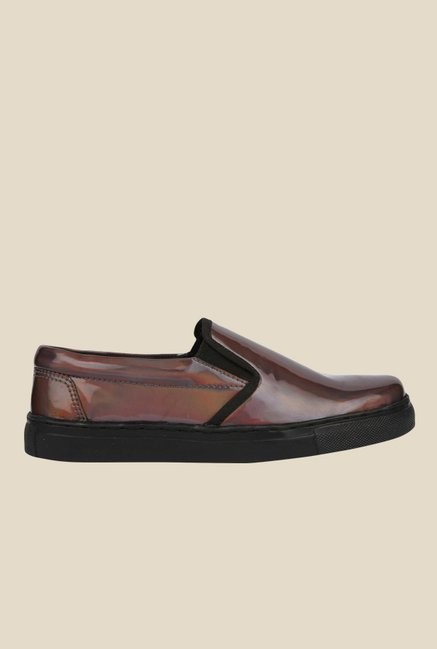 Spunk Renee Brown & Black Casual Shoes