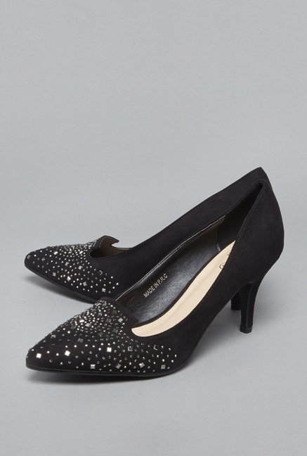 Head Over Heels by Westside Black Limited Edition Cone Pumps