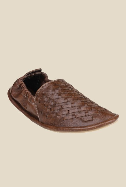 Shoetopia Brown Espadrille Shoes