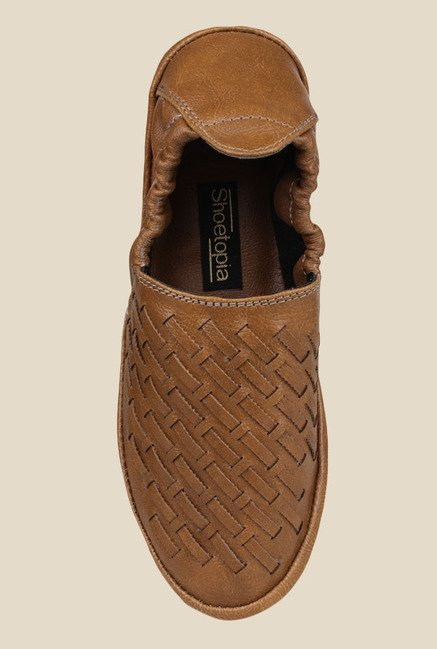 Shoetopia Tan Espadrille Shoes
