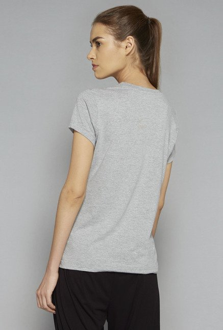 Westsport by Westside Grey Yoga T Shirt