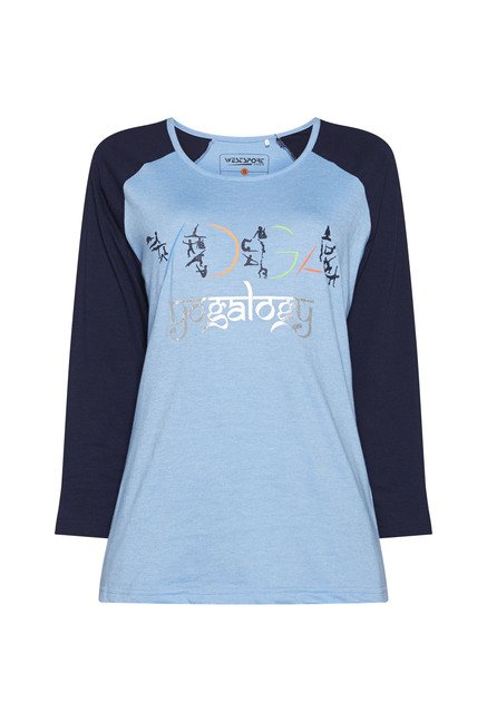 Westsport by Westside Blue Jazz T Shirt