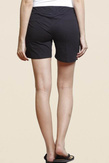 Sweet Dreams Black Bermuda Shorts