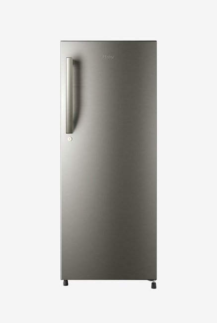 Haier HRD-2157BS-R 195 L Refrigerator (Brushed Silver)