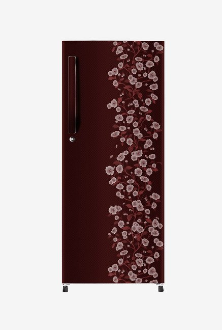 Haier HRD-2157CRD-R 195 L Refrigerator (Red Daisy)