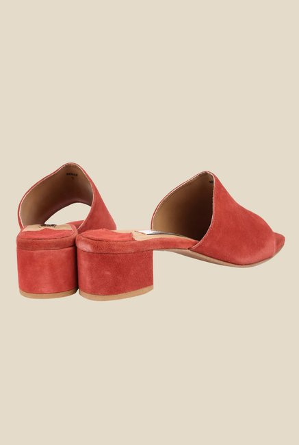 Spunk Reilly Red Casual Sandals