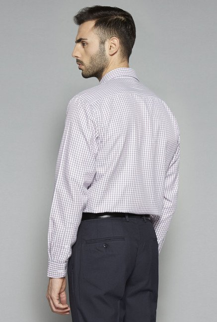 Weststreet by Westside Red Regular Fit Shirt