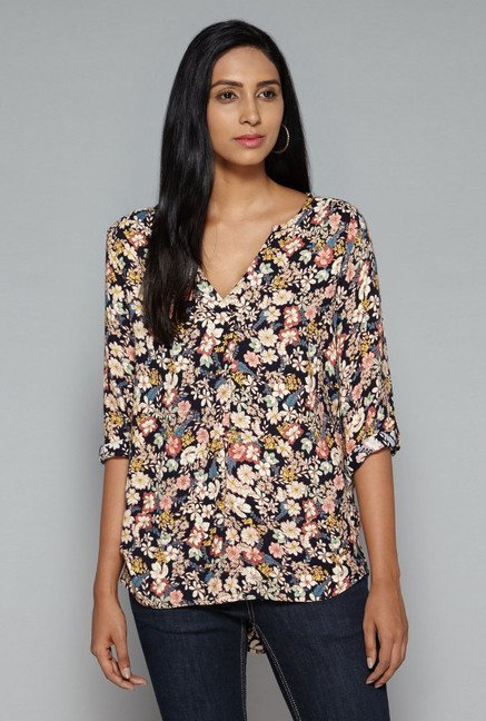 LOV by Westside Multicolor Sandy Blouse