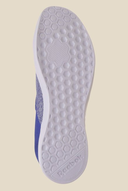 Reebok Court Blue & White Running Shoes