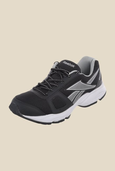Reebok Tech Run LP Black & White Running Shoes