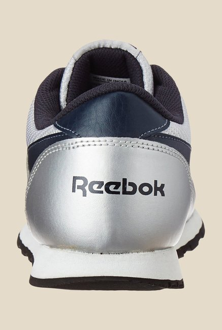 Reebok Classic Proton LP White & Navy Running Shoes