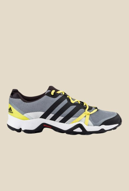 Adidas Rogain Grey & Black Outdoor Shoes