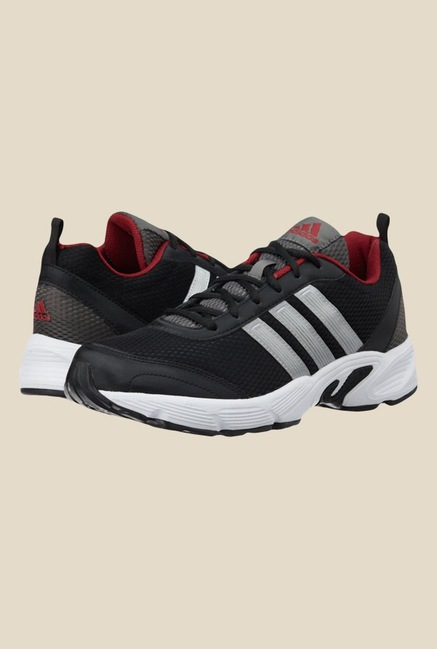 Adidas Albis 1.0 M Black & Silver Running Shoes