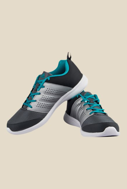 Adidas Adispree Grey & Turquoise Running Shoes