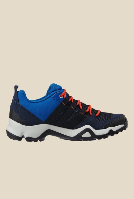 Adidas Ax2 Black & Blue Training Shoes