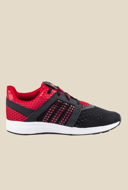 Adidas Yamo Black & Red Running Shoes