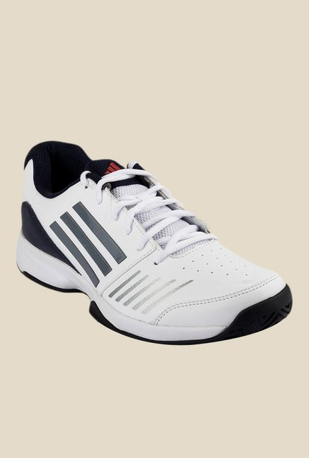 Adidas All Court White & Grey Running Shoes