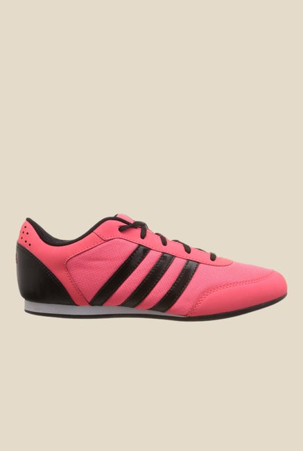 Adidas Vitoria Pink & Black Running Shoes