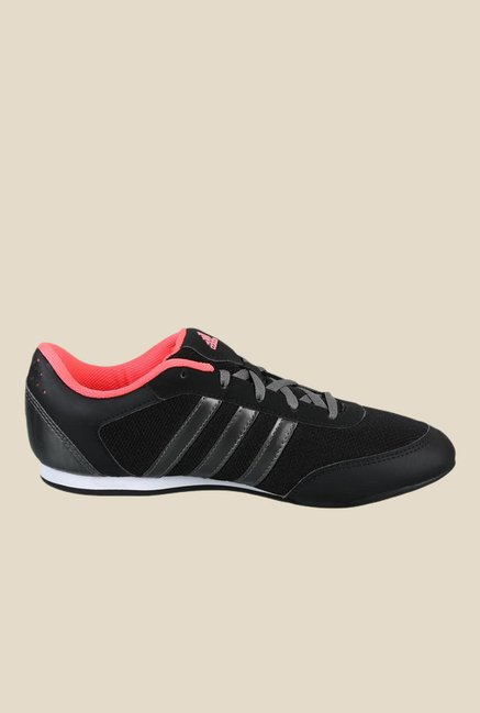 Adidas Vitoria II Black & Grey Running Shoes