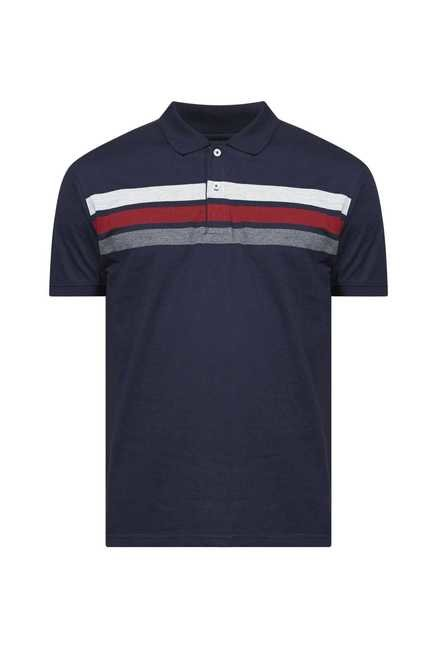 Zudio Navy Polo T Shirt