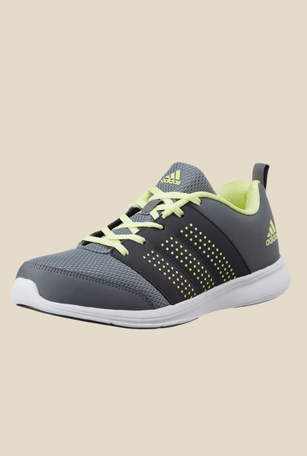 Adidas Adispree Grey & Green Running Shoes
