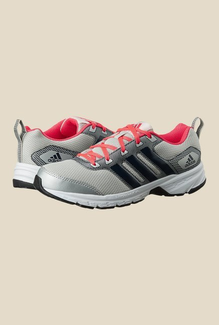 Adidas Alcor 1.0 Grey & Red Running Shoes