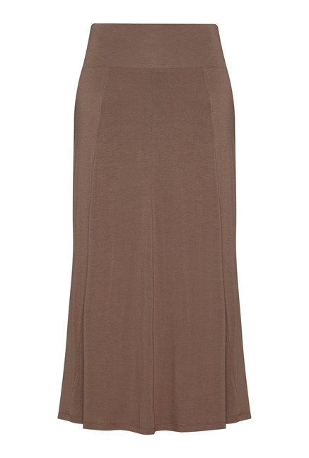 LOV by Westside Taupe Celina Skirt