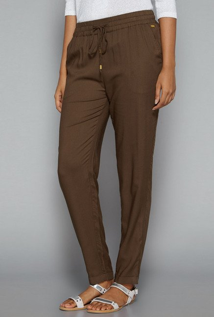 LOV by Westside Brown Ikea Trouser