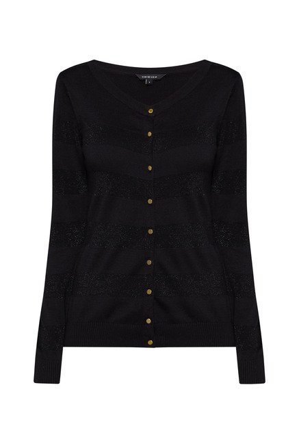Wardrobe by Westside Black Victoria Cardigan