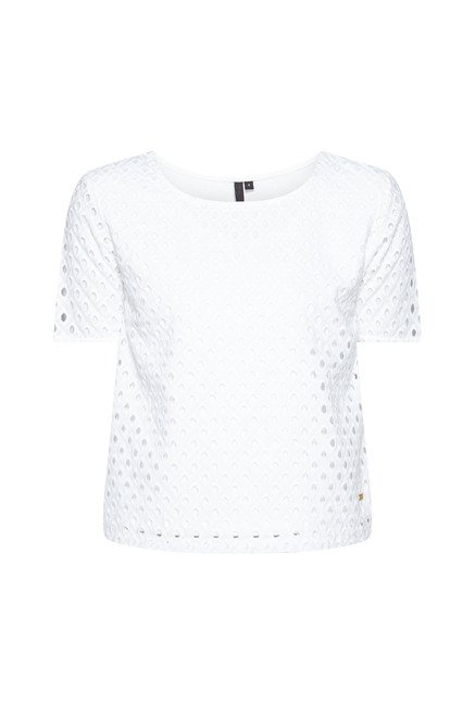 LOV by Westside White Lorry Top