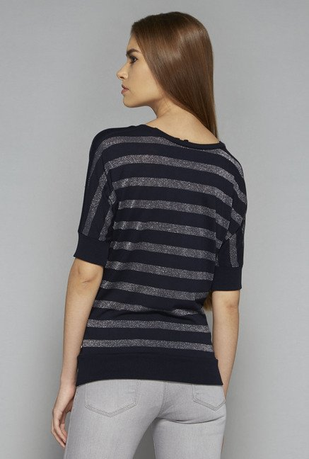 Nuon by Westside Navy Jolly Top