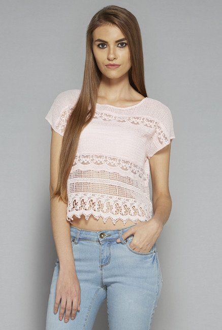 Nuon by Westside Pink Elina Top