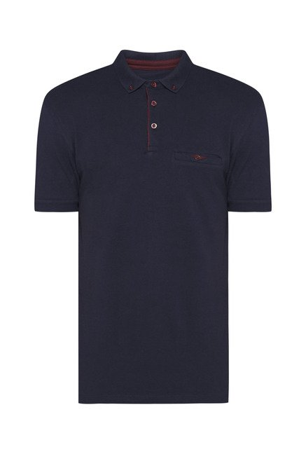 Ascot by Westside Navy Slim Fit T Shirt