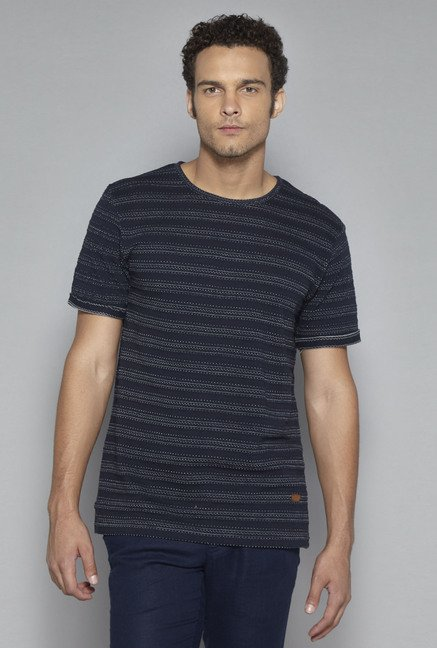 ETA by Westside Navy Slim Fit T Shirt