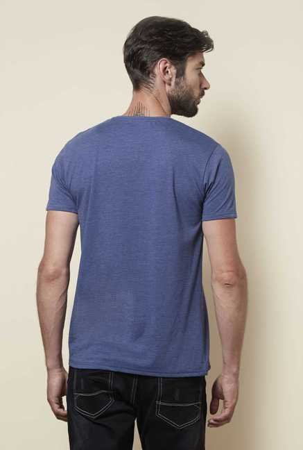 Zudio Indigo Regular Fit T Shirt
