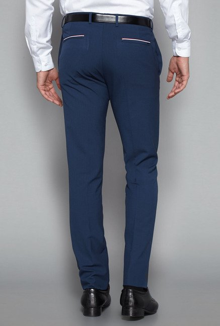 Weststreet by Westside Navy Ultra Slim Fit Trouser