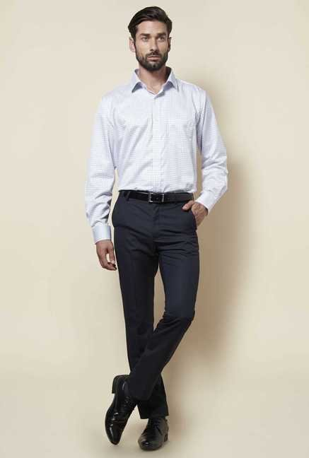 Zudio Navy Slim Fit Trouser