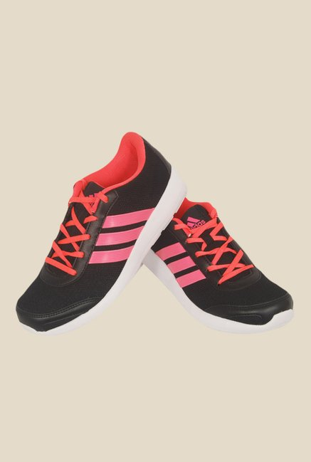 Adidas Hellion Black & Pink Running Shoes