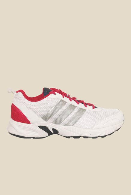 Adidas Albis 1.0 White & Red Running Shoes