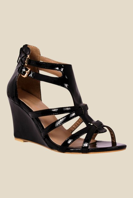 Notion Karissa Black Gladiator Sandals