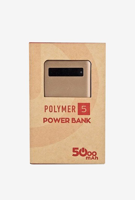 Karbonn Polymer 5 5000 mAh Power Bank (Golden)