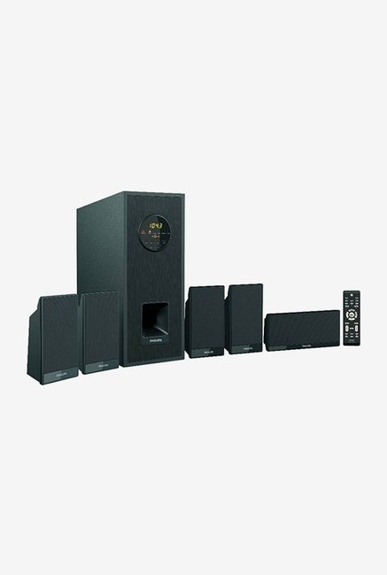 Philips DSP 75U 5.1 Home Audio Speakers (Black)