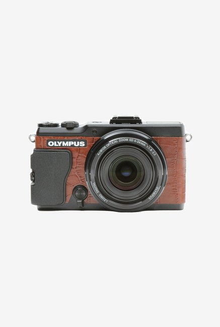 Japan hobby tool Olympus Stylus Xz-2 Leather Sticker (Brown)